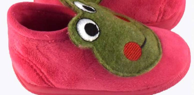 Zapatillas de animales para estar por casa - Niños