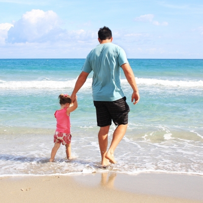 vacaciones playa con niños