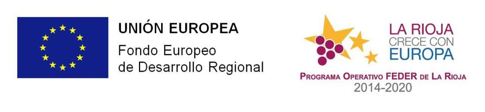 Logos Union Europea y Programa Operativo Feder